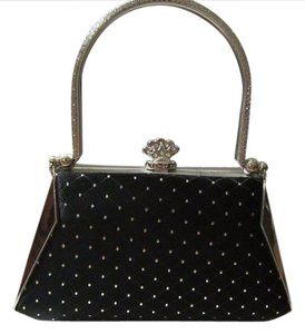 Other Wallet Polkadot Vintage black Clutch