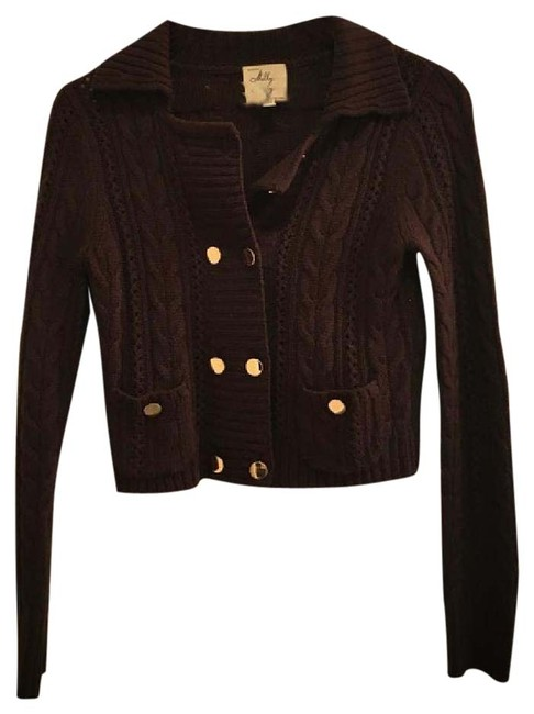 Preload https://img-static.tradesy.com/item/20812816/milly-of-new-york-brown-cashmere-cropped-button-sweater-cardigan-size-4-s-0-1-650-650.jpg