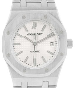Audemars Piguet Audemars Piguet Royal Oak Stainless Steel Silver Dial Mens Watch 15300