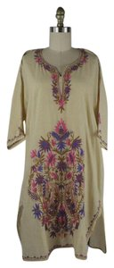 1970's Vintage Embroidered Caftan Tunic