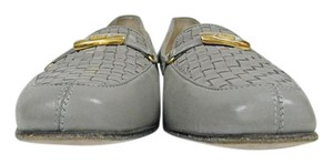 Bally Vanessa Loafers Moccasin Gray Flats