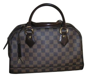Louis Vuitton Damier Ebene Canvas Duomo Handbag Shoulder Bag