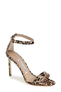 Manolo Blahnik Cheetah Print Pumps