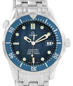 Omega Omega Seamaster Bond Midsize Blue Wave Dial Quartz Watch 2561.80.00