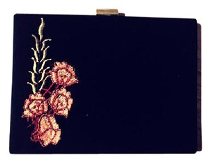 aire de arrecifes Evening Vintage black Clutch