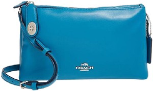 Coach Leather Messenger Cross Body Bag