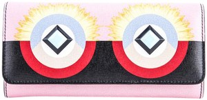 Fendi Fendi Crayons Continental Wallet In Multicolored Leather