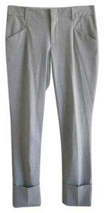 Gap Ankle Length Wear To Work Skinny Pants Grey