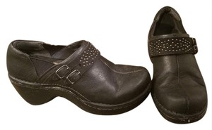 Ariat Studded Non-slip Leather Black Mules