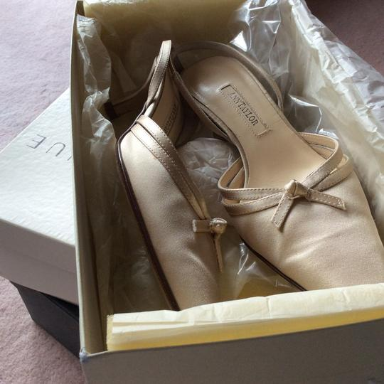 Ann Taylor Champagne satin Formal