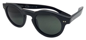 Ralph Lauren New RALPH LAUREN Sunglasses RL 8071-W 5001/52 46-23 145 Black w/ Green