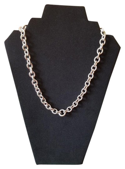 Preload https://img-static.tradesy.com/item/20813433/judith-ripka-sterling-silver-chain-link-smooth-and-textured-heavy-cable-necklace-0-1-540-540.jpg