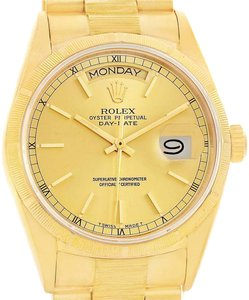 Rolex Rolex President Day-Date 18k Yellow Gold Dial Automatic Watch 18078