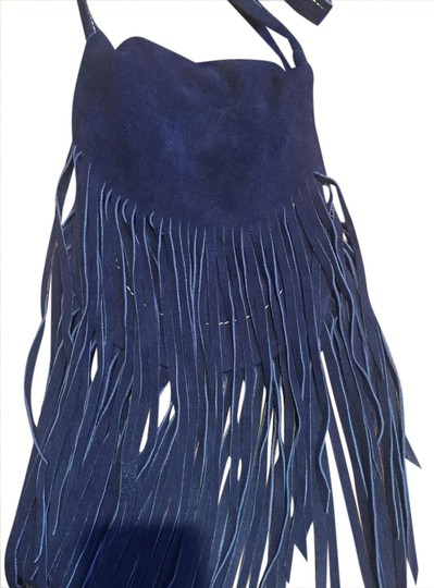 Preload https://img-static.tradesy.com/item/20813502/fringed-navy-suede-cross-body-bag-0-1-540-540.jpg