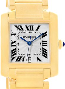 Cartier Cartier Tank Francaise Large 18K Yellow Gold Watch W50001R2