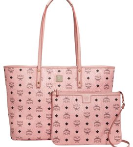 MCM Tote in soft pink