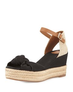 Tory Burch Black Royal Tan Sandals