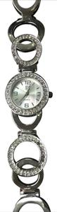 New York & Company Silver chain link watch