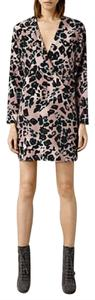 AllSaints short dress Leopard Print on Tradesy