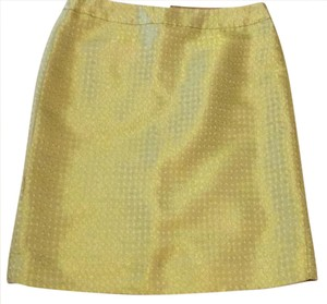 J.Crew Skirt Yellow and gold