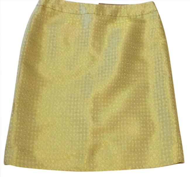 Preload https://img-static.tradesy.com/item/20813742/jcrew-yellow-and-gold-skirt-size-2-xs-26-0-1-650-650.jpg