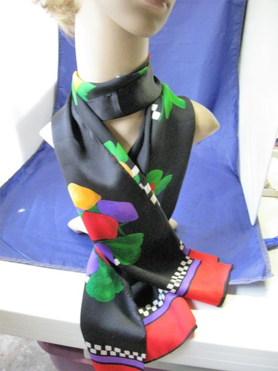 Other Woman's Colorful Long and Narrow Scarf