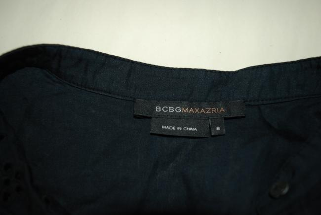 BCBGMAXAZRIA Calypso Figue Top NAVY