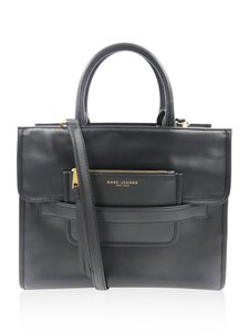 Marc Jacobs Leather Tote in Black