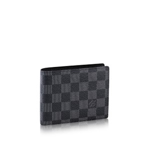 Louis Vuitton Florin Wallet - Damier Graphite Canvas