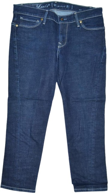 Preload https://img-static.tradesy.com/item/20813986/levi-s-blue-made-in-usa-capital-e-capricropped-jeans-size-30-6-m-0-1-650-650.jpg
