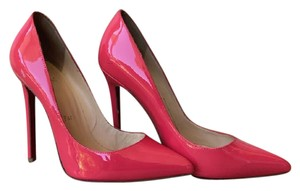 Christian Louboutin Patent Leather Pigalle Pink Pumps