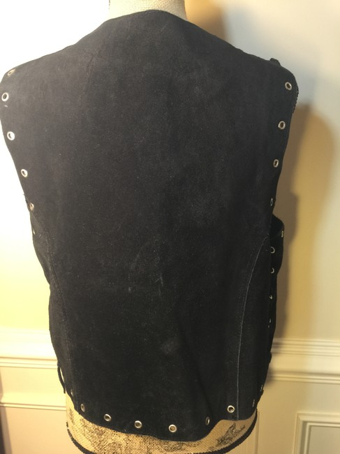 Nice London Vintage With Silver Eyelets Purchased In Spain Medium Vest