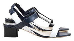 Dior Navy, black and white Sandals