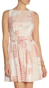 Thakoon Addition short dress white/pink Isabel Marant Figue Calypso on Tradesy