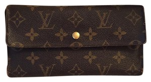 Louis Vuitton Monogram tresor international long wallet