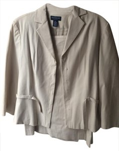 Ann Taylor Ann Taylor Poplin like classic suit jacket and matching skirt