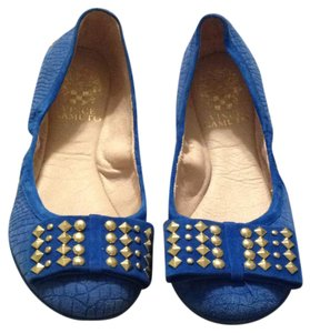 Vince Camuto Blue Flats