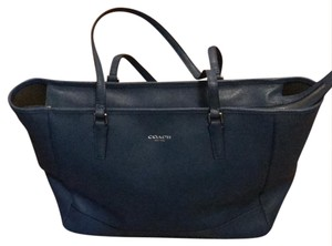 Coach Tote in Cobalt Blue