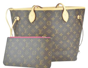 Louis Vuitton Monogram Neverfull Shoulder Bag