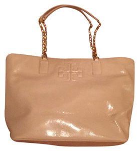 Tory Burch Tote in light oak/pale pink