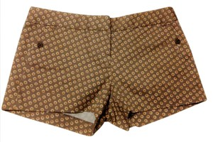 J.Crew Collection Mini/Short Shorts Bronze Pattern