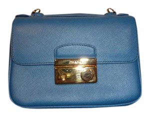 Prada Light Blue Clutch