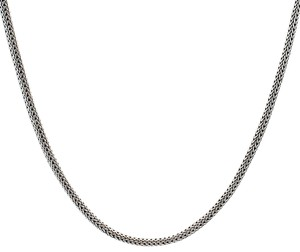 John Hardy Authentic John Hardy 5mm Classic Chain Sterling Silver Necklace
