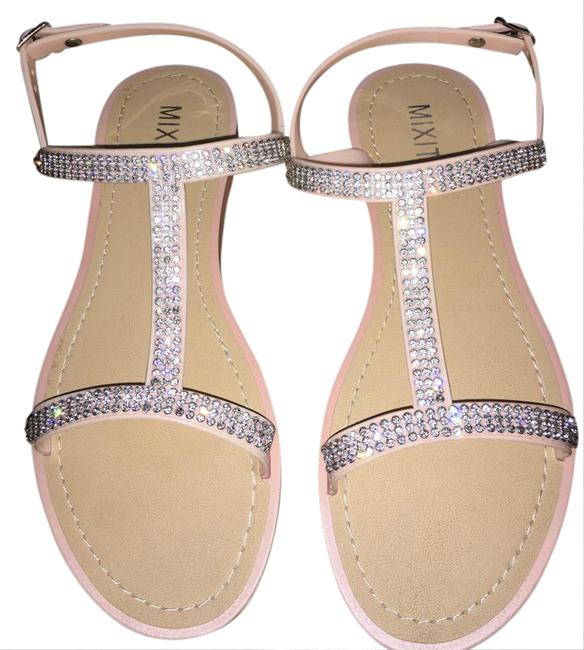 Item - Soft Pink Or Peach Sandals Size US 8 Regular (M, B)