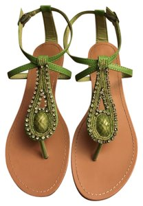 Bamboo Lime green Sandals