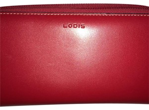 Lodis red billfold