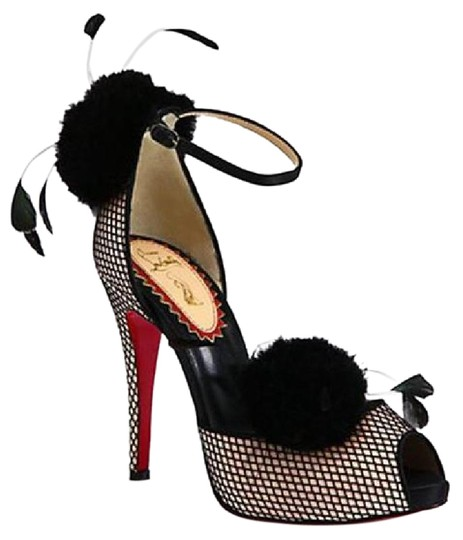 Preload https://img-static.tradesy.com/item/20815194/christian-louboutin-powder-black-pluminette-20ans-pom-satin-feathers-fishnet-heels-poudre-37-sandals-0-1-540-540.jpg