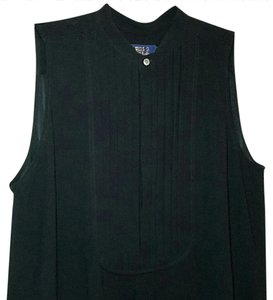 Ralph Lauren Tunic Bib Top black