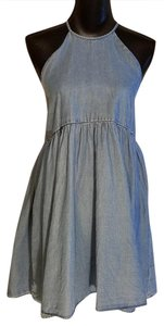 Kimchi Blue short dress Denim on Tradesy