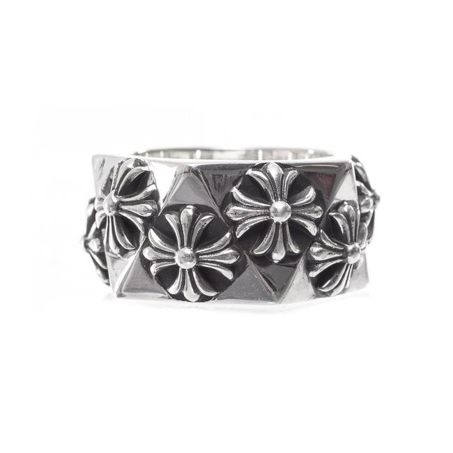 Chrome Hearts Silver Pentagon Ch Plus All Sizes Ring Chrome Hearts Silver Pentagon Ch Plus All Sizes Ring Image 1